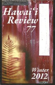 Hawai'i Review cover 001